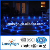 High quality waterproof low voltage mini led deck light kit for step lighting