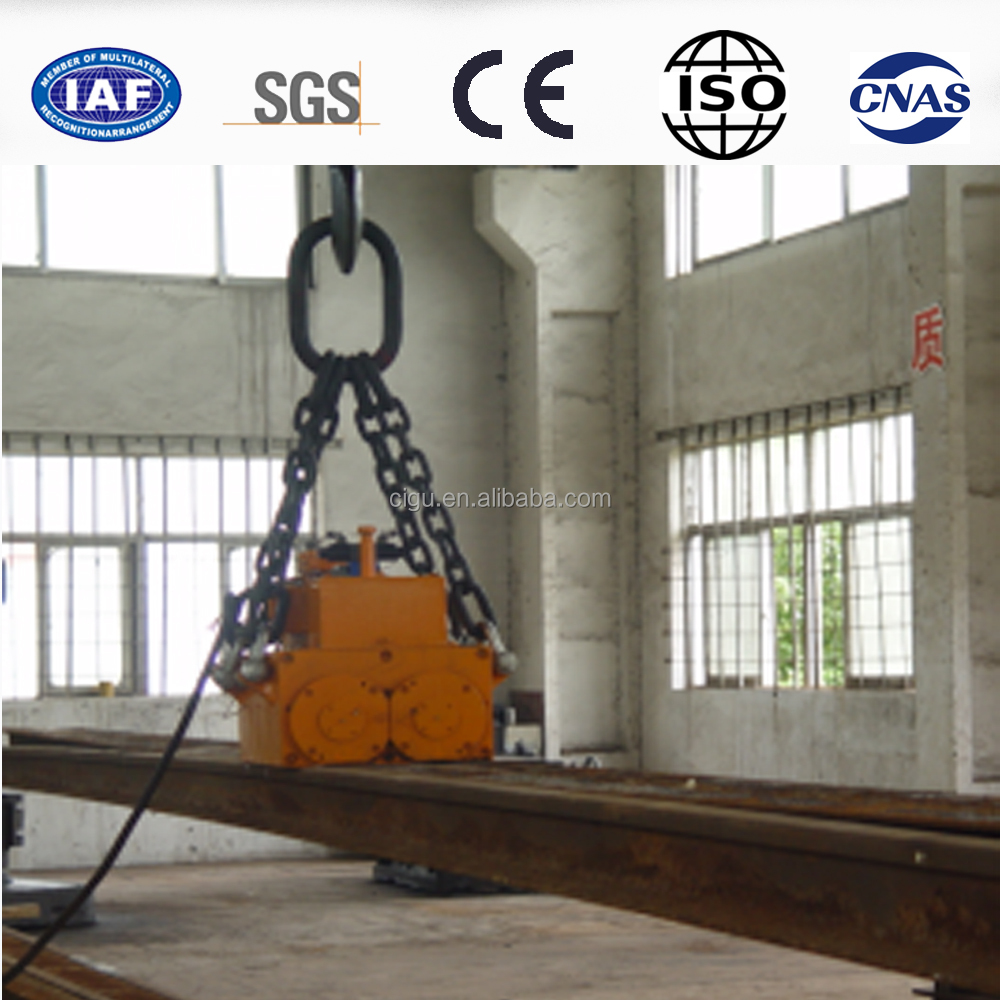 permanent strong magnetic lifter for lifting ferromagnetic materials