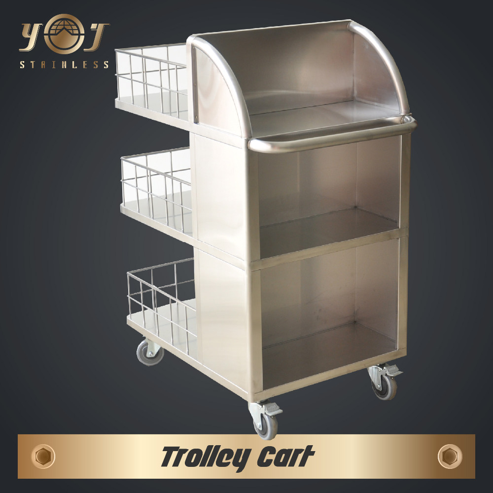 wholesale foldable tricycle food shopping cart trolley