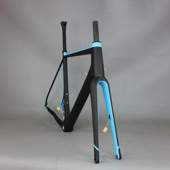 Gravel 700C Carbon Bike Frame bikes Thru Axle 142mm Gravel Di2 Carbon Cyclocross Frame Disc