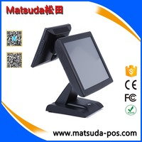 15 inch restaurant all in one touch screen POS system electronic billing payment machine