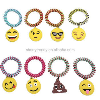 Bracelets Emoji Charm Pendant Bracelets Multiple Options Available