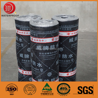 flexible basement waterproofing materials polymer bitumen waterproofing roof sheet membrane in good price