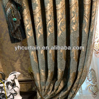 home luxury curtain/hotel cuatain