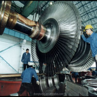500KW 50000KW Condensing Steam Turbine