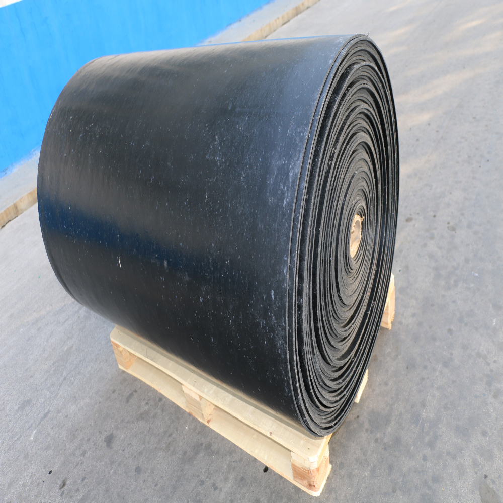 new product high wear resistant industrial reinforced rubber sheet roll masticated rubber sheet
