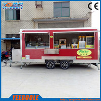 SHANGHAI OEM provided best price mobile food carts used food carts for sale with CE