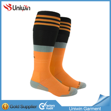 Hot on sale soccer socks low price 100% polyester