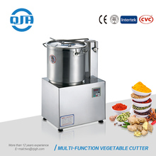 Electric multi-function ginger peanut walnut almond meat processing equipment vegetable cutting
