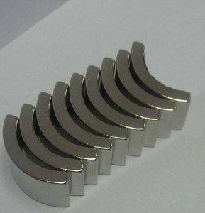 ISO/TS16949 Certifcation SH Arc Shape Neodymium Magnet For Motor and Generators