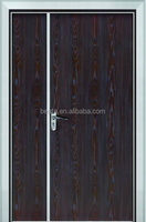 Home/American Style Solid Mahogany Wood Entry Plain Door