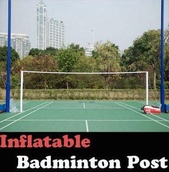 6.1M-Inflatable Badminton post with net