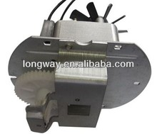 Shaded pole gear motor