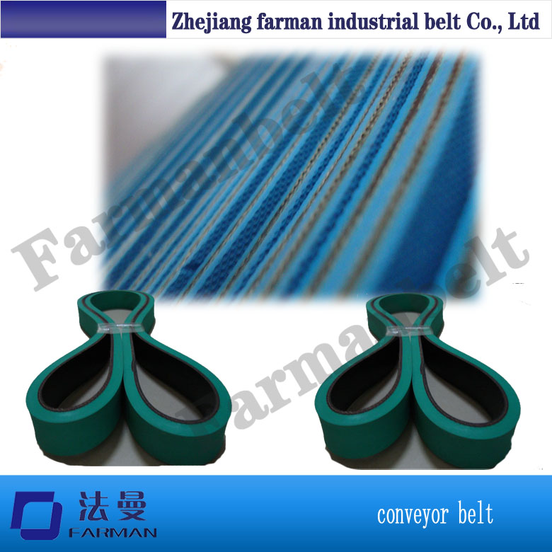 High Abrasion Resistance And Antistatic Folder Gluer Belts,Flat Rubber Stretch Belts