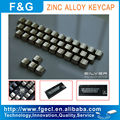 Metal mechanical silver color keycap for all MX switch keyboard
