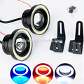 Waterproof 2.5/3/3.5 inch led fog light projector COB white/blue/red/green/yellow/purple kit