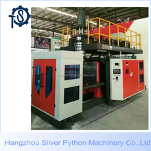 hdpe plastic road barrier traffic block blow molding machine