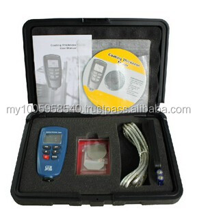 Digital DT-156 Paint Coating Thickness Gauge/ Meter /Tester 0~1250um with Built-in Auto F & NF Probe + USB Cable + CD software