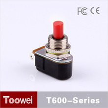 Special Push Button Type 3A/6A 12mm SPDT sealing boot of toggle switch