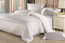 Classic Natural White Silk Sheets Sets 4 pcs Real Silk Bed Sets