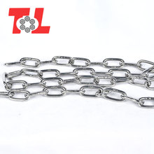 Manufacturer supply small twisted stainless steel link chain