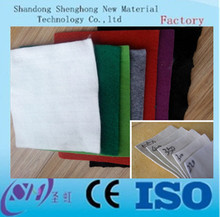 high strength 100g / m2 pp / pet geotextile made geobag