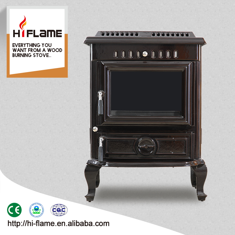 High quality european indoor fireplace for home used cast iron wood burning stove HF443BE