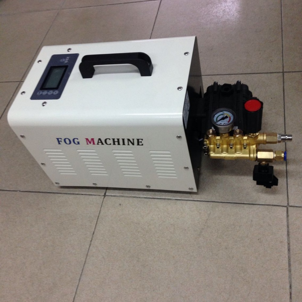 High pressure misting system fog machine