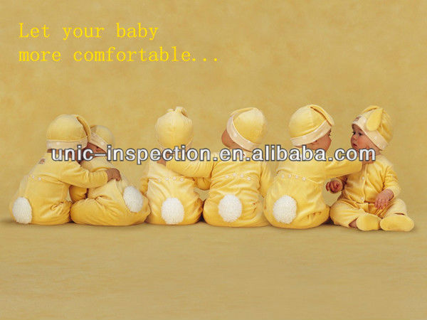Garment Inspection Company offer Baby clothes Quality Control in China and Quality guarantee before shipping