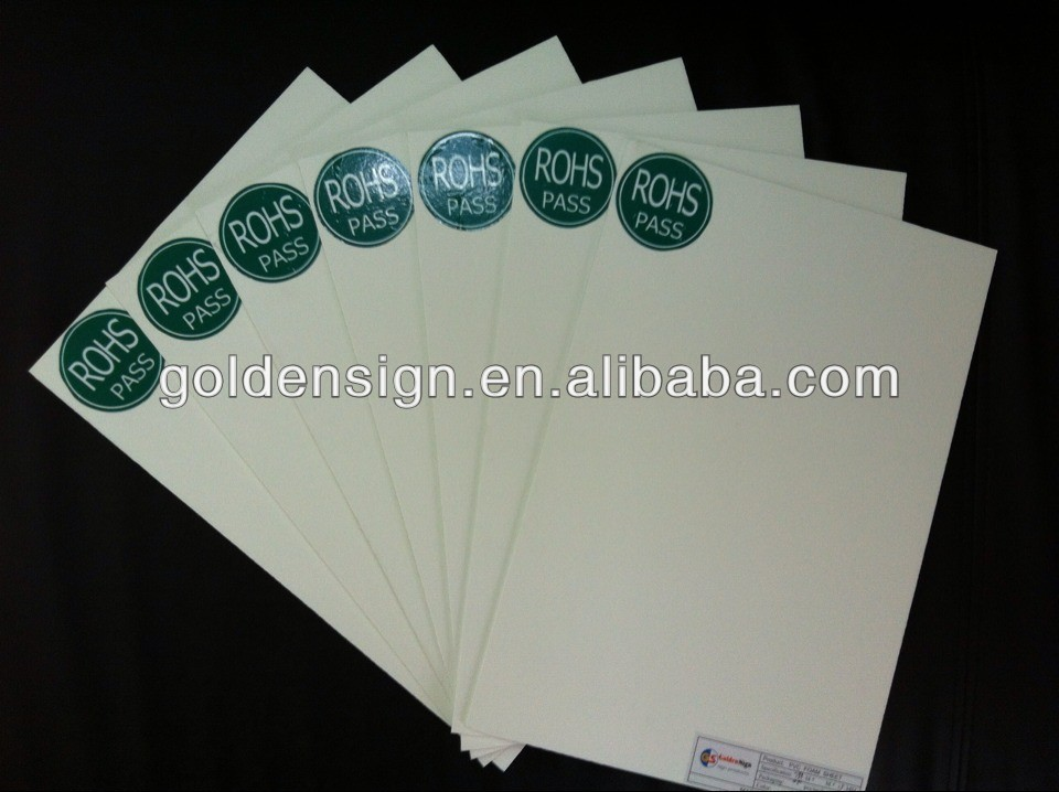 pvc sheets black Hard surface 2mm