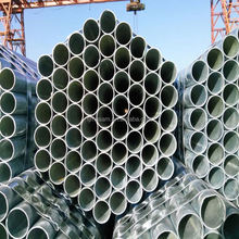 ASTM A53 sch 40 bell end steel pipe