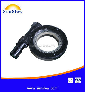 SD14 14inch dual axis worm gear slew drive for PV CPV solar tracking system