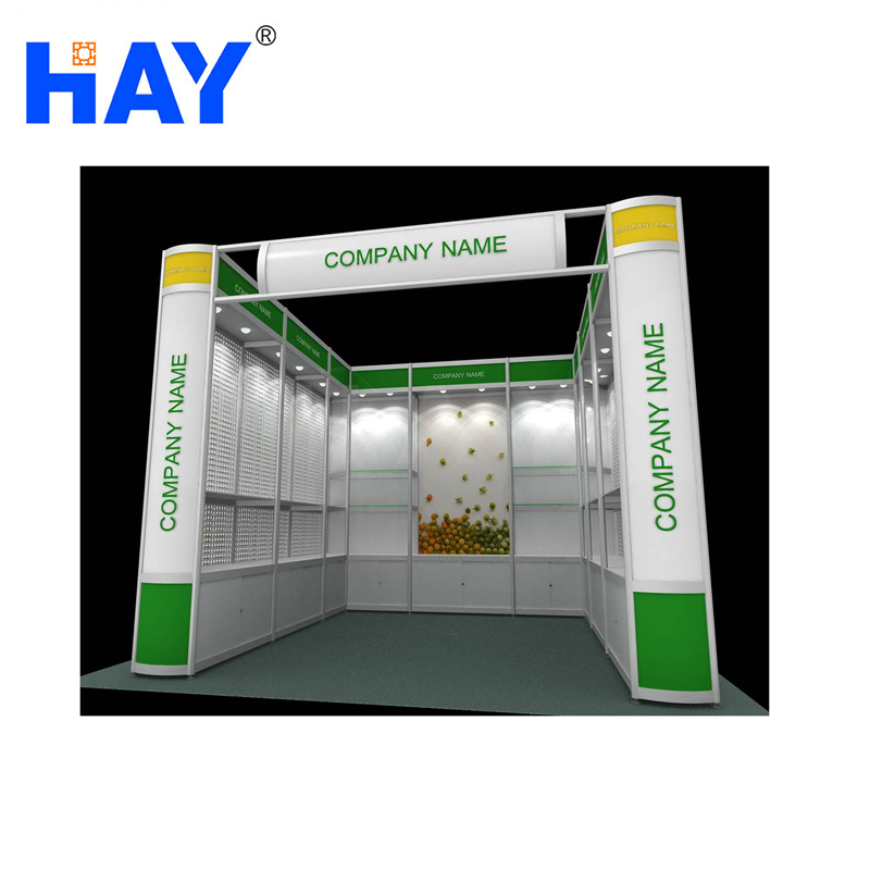 Good Quality Aluminum Exhibition Booth 10x10