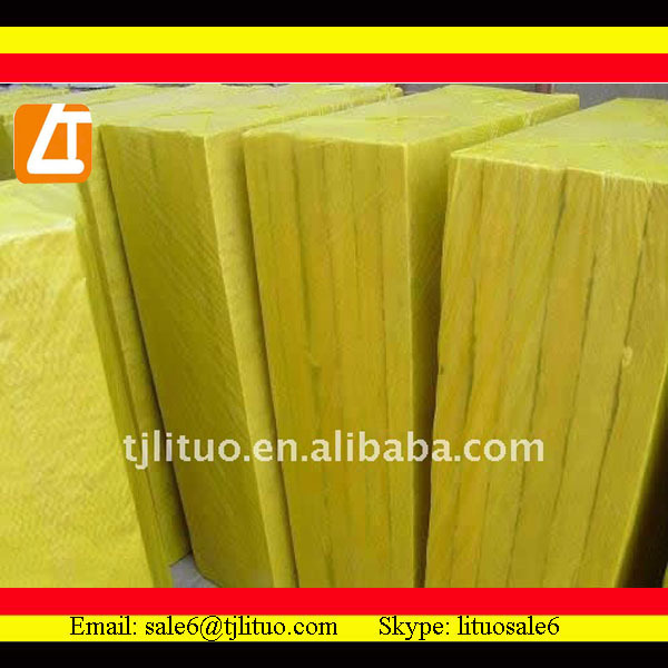 fiber yellow loose glass wool