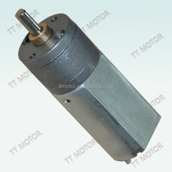 high torque gearbox with dc gear motor 10kg.cm 6v