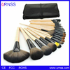 32pcs Makeup Brush Sets Professional Cosmetics Brushes Eyebrow Eye Brow Powder Lipsticks Shadows Make Up Tool Kit Pouch Bag