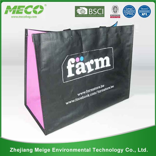 2016 promotional top quality non woven bag, non-woven shopping bag
