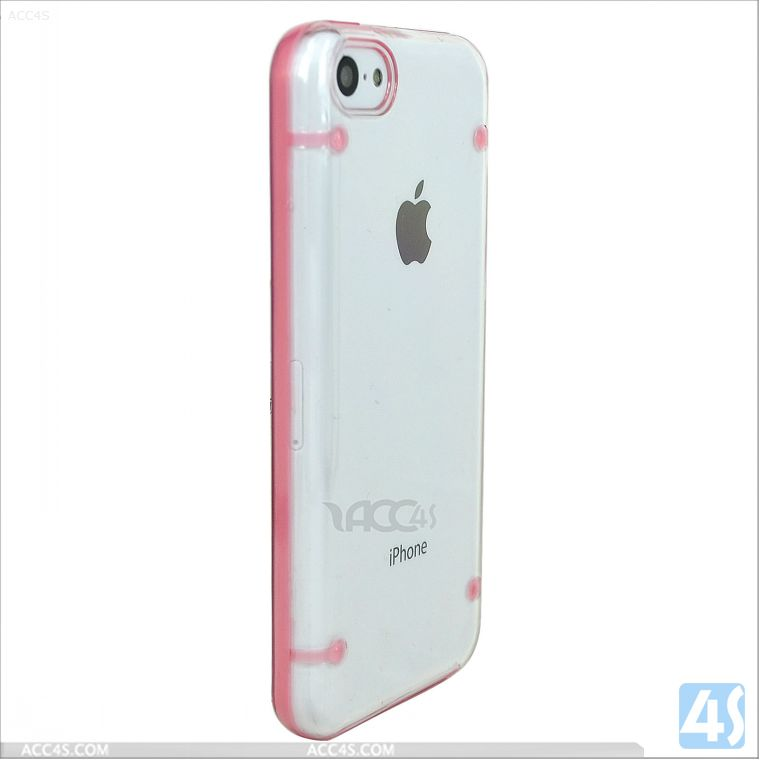 For iPhone 5C Clear Hard Candy Cases P-IPH5CHC004