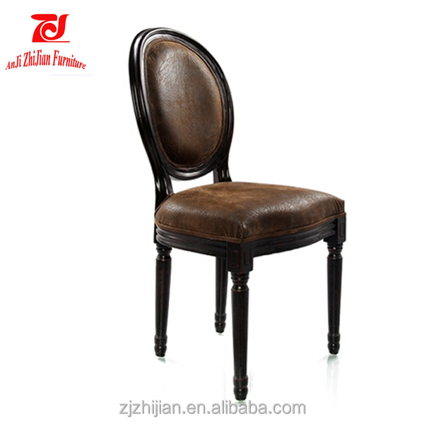 Wood Chairs For Restaurant French Antique Chair ZJF81g