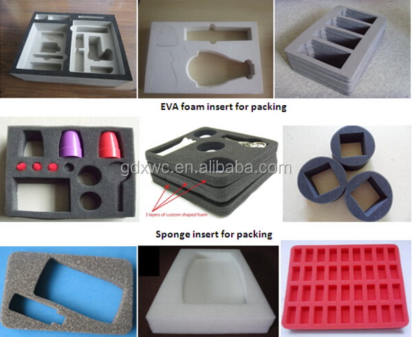 2016 Hot Sale Packing Foam Die Cut EVA Foam Packing