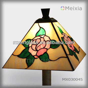 MX030009 china wholesale stained glass imitation tiffany lamp for home decoration items