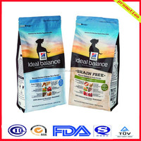 resealable dog food packaging bag