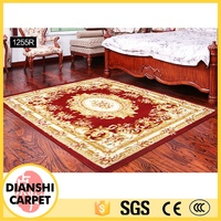 Printing Rug Oriental Plain Floor Carpet Underlay For Living Room