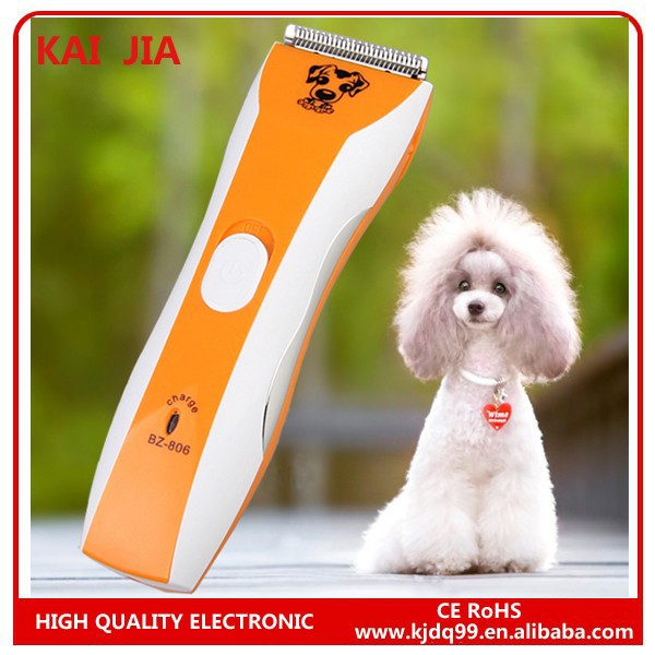 Dog and Cat pet hair grooming rechargeable pet hair clipper