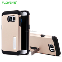 wholesale online phone case manufacturing PC Mobile Phone Case Cover For Samsung S7 Armor Case With stand