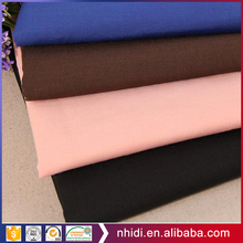Hebei manufacturer antiwrinkle poplin 133*72 tc shirt fabric