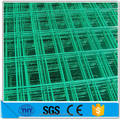 green vinyl coated welded wire mesh fence / cheap wire fence