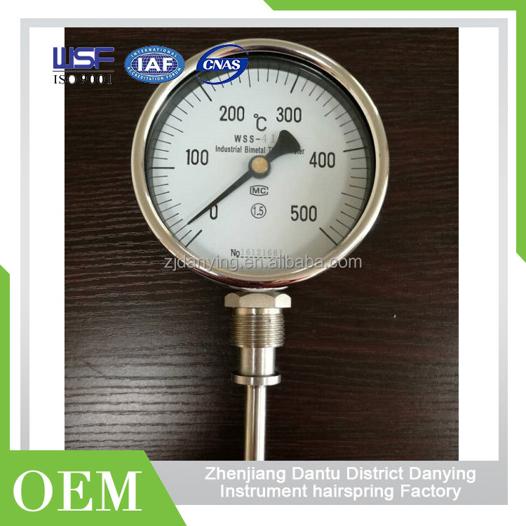 Hydraulic Oil Temperature Pressure Gauge For Fire Extinguisher Car Temperature Gauge