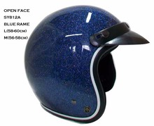 taiwan cheela ABS open face motorcycle jet helmet