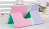 2015 Cheap Promotional Soft PU Leather case for ipad 6 leather cover case
